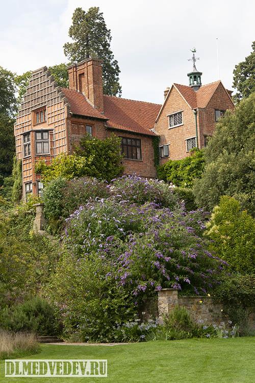В саду Уинстона Черчилля