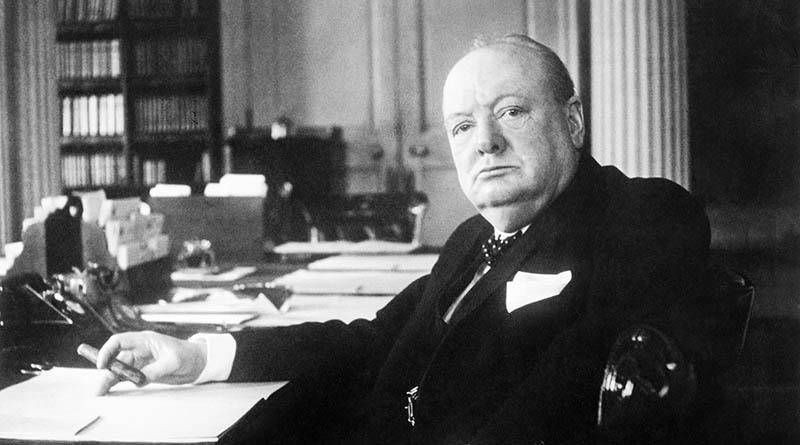 Уинстон Черчилль и сигары