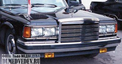Лимузин ЗИЛ-41047, представительский лимузин для глав государств, фото Льва Леонидовича Медведева