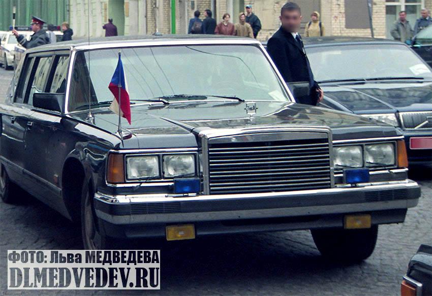 ЗИЛ-41047 премьер-министра Чехии Милоша Земана, фото Льва Леонидовича Медведева