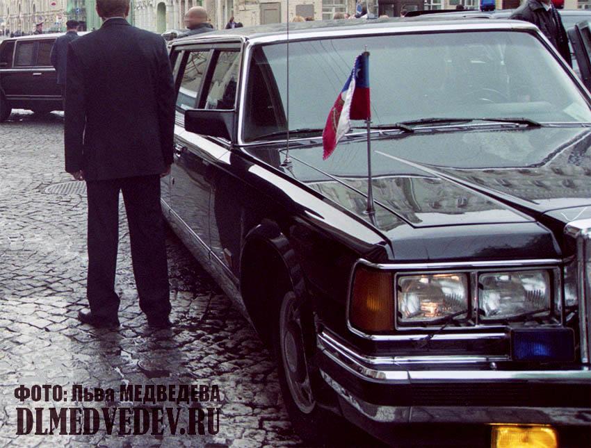 ЗИЛ-41047 президента Республики Чили Рикардо Лагоса, фото Льва Леонидовича Медведева