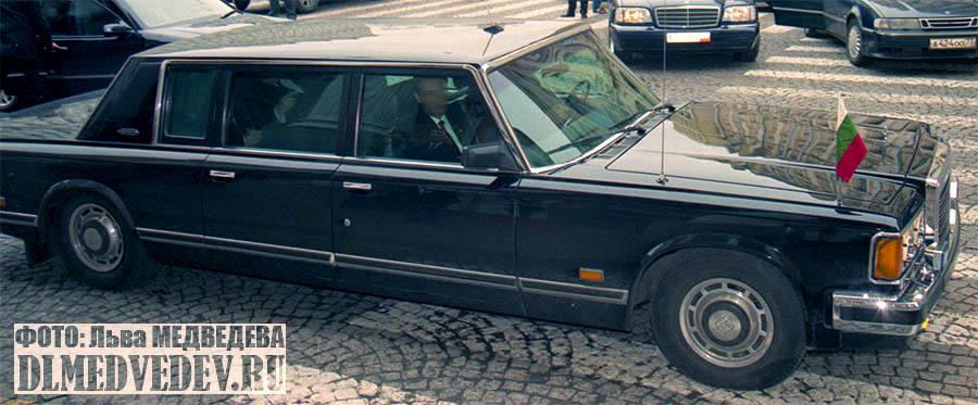 ЗИЛ-41047 с президентом Болгарии Георги Пырвановым, фото Льва Леонидовича Медведева