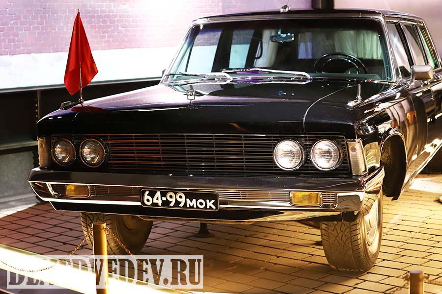 ЗИЛ-114, персональный автомобиль Л. И. Брежнева, музей ГОН