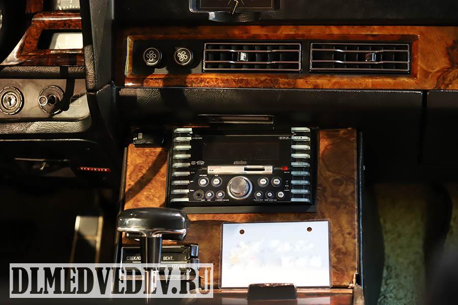 ЗИЛ-41045 панель управления водителя