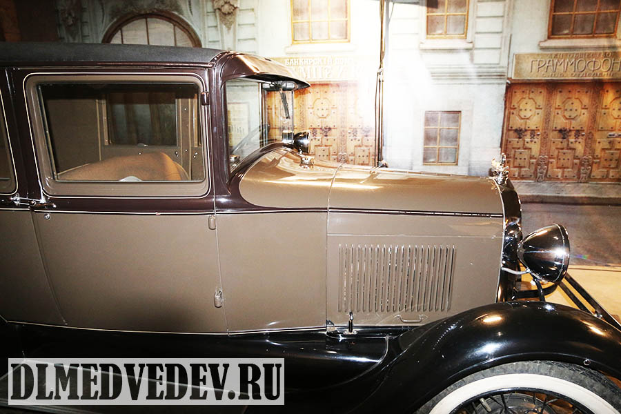 Форд А Ford A, 1929 год