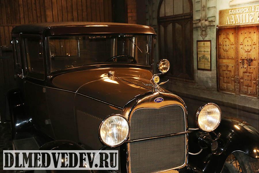 Форд А прототип ГАЗ А модель 1929 года