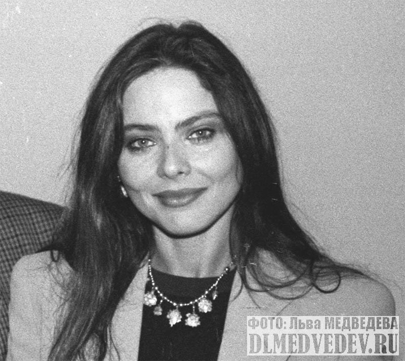 Итальянская актриса Орнелла Мути, фото Льва Леонидовича Медведева
