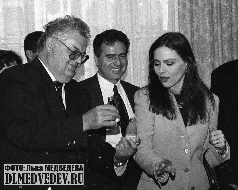 Ornella Muti, Moscow 1995