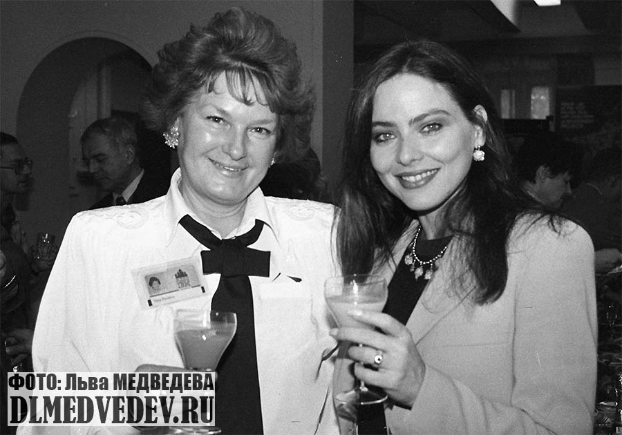 Орнелла Мути в Москве 1995 год, фото Льва Леонидовича Медведева