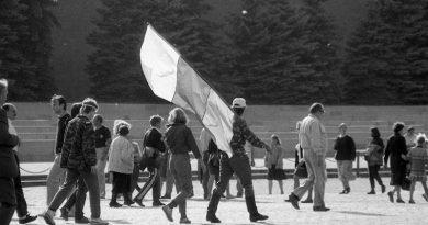 Август 1991 года, фото Льва Леонидовича Медведева